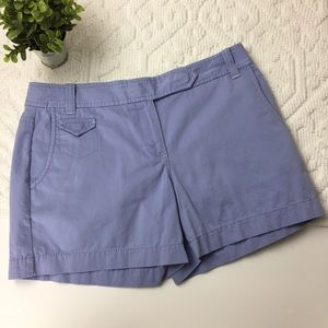 "LOFT Light Blue Shorts sz. 4 with 4"" inseam (BB15)"